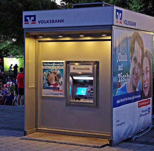 Der Ratiodata Cashcontainer - für Veranstaltungen und Geschäftsstellenumbauten