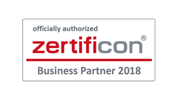 Ratiodata ist Zertificon Business-Partner 2018